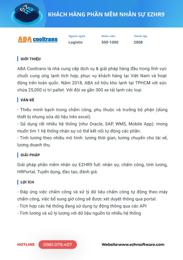Công ty Cổ Phần Giải Pháp Thương Mai ABA Việt Nam -1